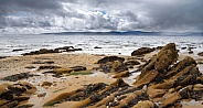 Mull of Kintyre viewed from Isle of Arran - Scotland