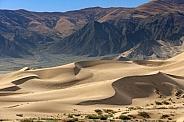 Sand dunes - Tibetan Plateau