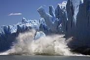 Ice calving - Perito Moreno Glacier - Argenyina