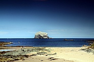 Bass Rock coast