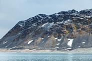 Landscape of Spitsbergen