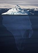 Iceberg - 90 percent underwater - Antarctica