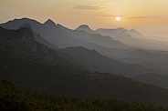 Kyrenia Mountain range - Turkish Republic of Northern Cyprus