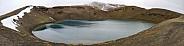Volcanic crater - Krafla - Iceland