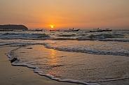 Sunset - Ngapali Beach - Myanmar