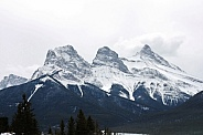 The Three Sisters - Rocky Mountains