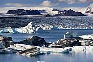Jokulsarlon glacier and lagoon - Iceland
