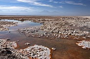 Atacama Salt Flats in the Atacama Desert - Chile