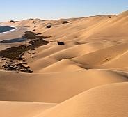Sand dunes of the Namib Desert - Namibia