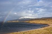 Loch Assynt in northwest Scotland