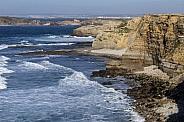 Atlantic breakers - Cliffs at Peniche - Portugal