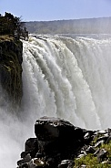 Victoria Falls viewed from the Zimbabwe