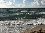 Ft. Lauderdale Beach and Ocean Waves