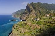 Dramatic coastal landscape - Madeira