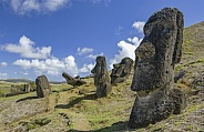 Landscape of Easter Island - South Pacific