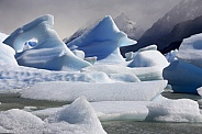 Icebergs in Lago Grey - Patagonia - Chile