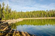 Scaup Lake Reflections