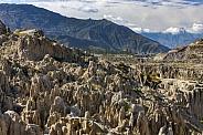 Valle de la Luna near La Paz - Bolivia
