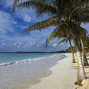 Beach on the Yucatan Peninsula - Mexico