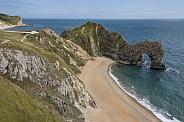 Durdle Door - Jurassic Coast - Dorset - England