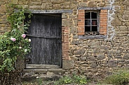 Rustic old agricultural building