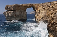 Azure Window Natural Arch - Malta