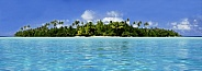 Coral Island - Cook Islands - South Pacific
