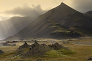 Volcanic Landscape near Stafafell - Iceland