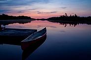 Little red canoe July