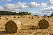 Farmland at harvest time - England