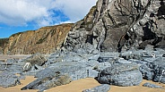 Marloes Sands Cliffs