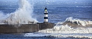 Bad Weather - Seaham Lighthouse