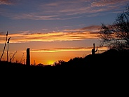 Beautiful Arizona at Sunset
