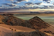 Aerial view - Namib Desert - Namibia