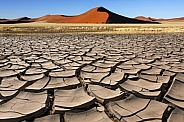 Sossusvlei in the Namib Desert - Namibia