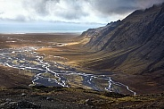 Desolate Landscape near Vatnajokull - Iceland