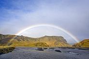 Rainbow over the River Sandvatn - Iceland