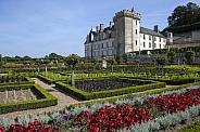 Formal gardens of Chateau Villandry