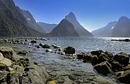 Mitre Peak - Milford Sound - New Zealand