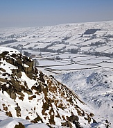 North York Moors in winter - England