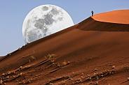 Namib Desert at Sossusvlei in Namibia