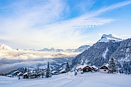 Wintertime in Switzerland