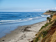 La Jolla Beach, CA, Northern View