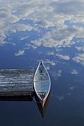 Cloud flying canoe