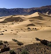 Sand dunes - Tibet
