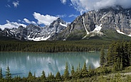 Waterfowl Lake - Banff National Park - Alberta - Canada