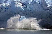 Ice calving from the Perito Moreno Glacier - Argentina