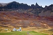 Rural landscape - Akureyri - Iceland