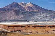 Alues Calientes Salt Flats - Atacama Desert - Chile