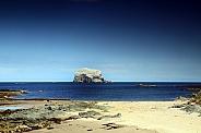 Bass Rock coast